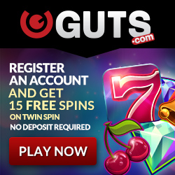 Guts Casino is our Best Pokie Casino